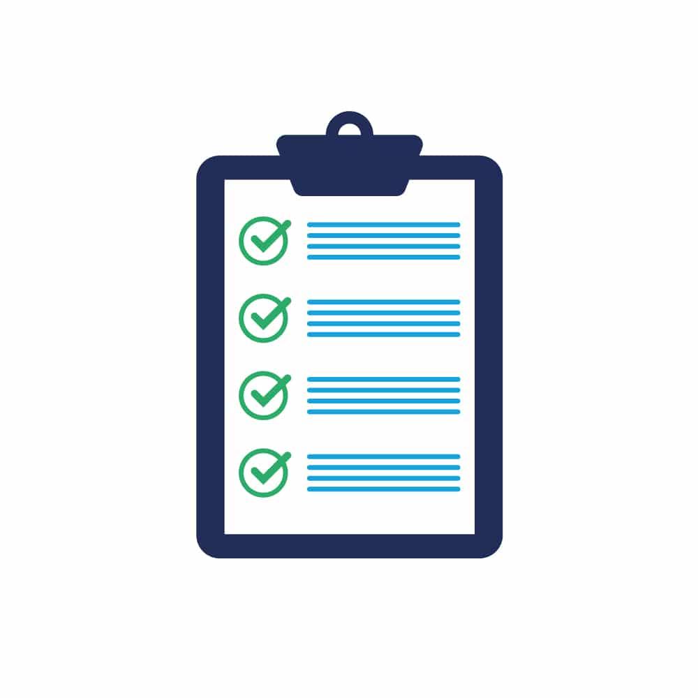 Icon Produktentwicklung Eigenschaften Checkliste